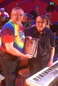Tom Apel with Bill Cowgill HOF 2016